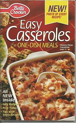 Betty Crocker EASY CASSEROLES & ONE DISH MEALS Recipe Booklet 1997 - Easy Halloween Food Decorations