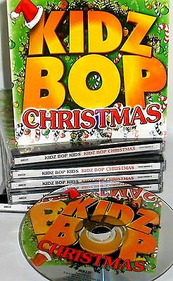 KIDZ BOP CHRISTMAS CD, NEW! FREE SHIP Childrens Music,FROSTY,RUDOLPH,SANTA CLAUS