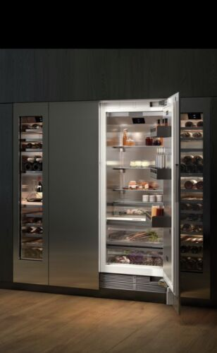Gaggenau Fridge, Freezer, Wine Cooler Stainless Steel Packages