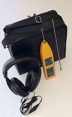 Leak Detector Water -professional Plumber Stethoscope-new 2018 Hi Sensitivity