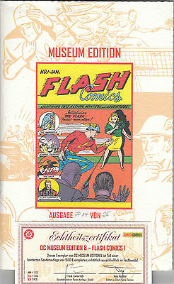 "DC MUSEUM EDITION (deutsch) # 8 - Flash Comics 1 - PANINI - ""PP 14 / 25"" - TOP"