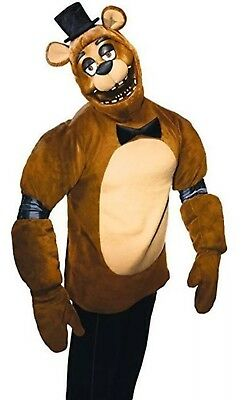 Five Nights at Freddy's Fazbear Costume Horror Halloween Video Game Teen 4piece