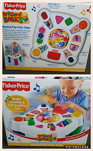 Fisher Price pop-tivity table Fletcher Newcastle Area Preview