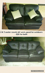 2 couches: one 2 seater, one 3 seater Beaconsfield Fremantle Area Preview