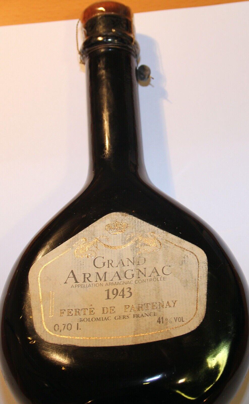 Grand Armagnac 1943 Ferte de Partenay
