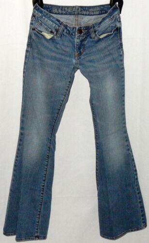 "Bull Head Junior's Newport Super Skinny Flare Jeans SZ. 1 Long Inseam 32"""
