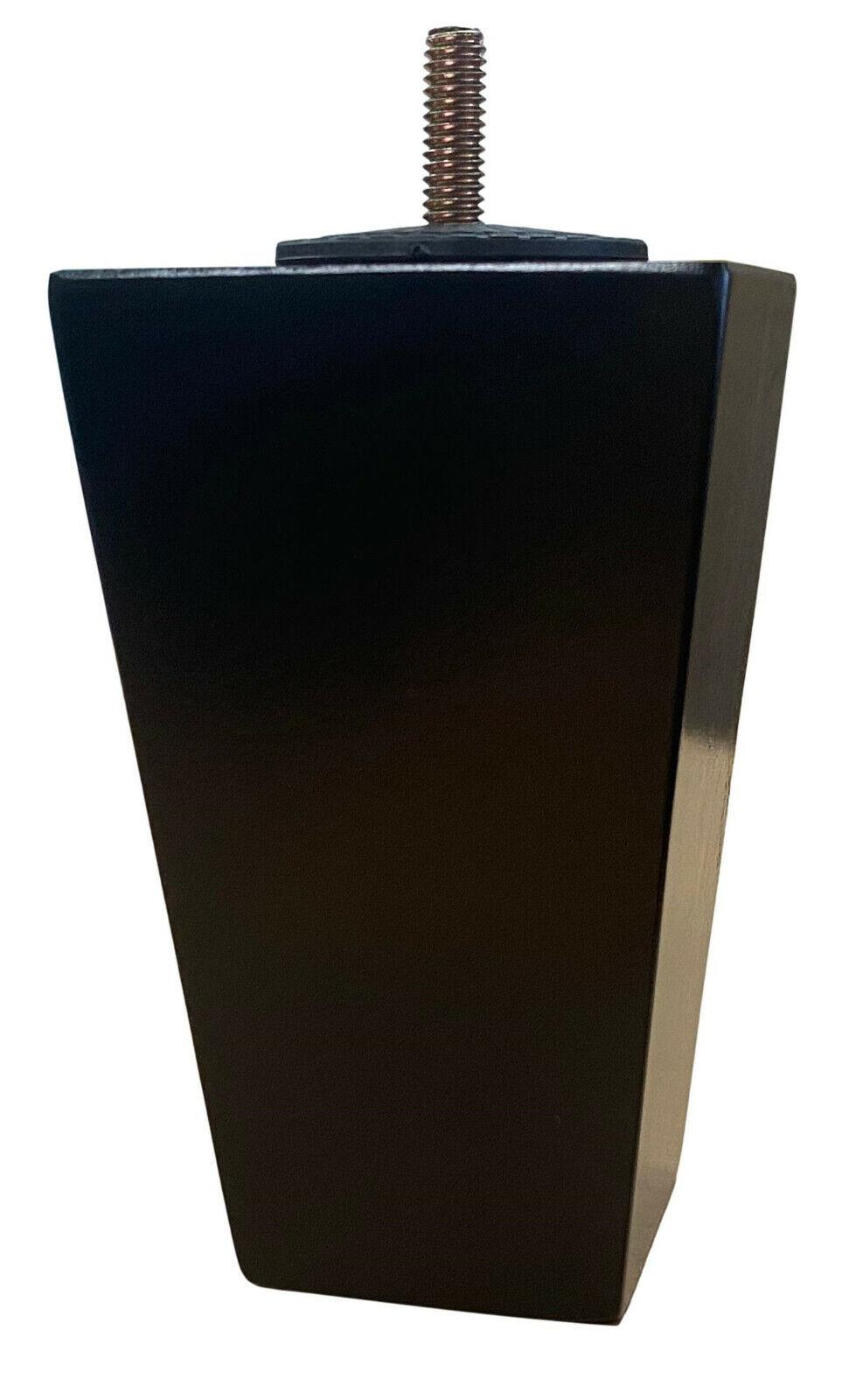 2″ Short Height Medium Walnut Tapered Sofa Ottoman Furniture Legs – Set of 4 Furniture