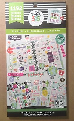 Me   My Big Ideas Create 365  Teacher  Value Pack Stickers   Green Book 1192 Pcs