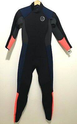 Rip Curl Womens Full Wetsuit Size 12 E4 Sealed 3/2 NWT - Flash (Cheap Womens Wetsuits)
