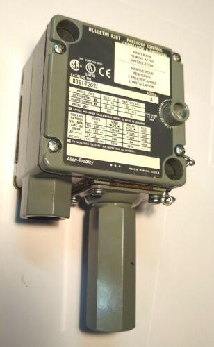 Nice ALLEN BRADLEY 836T-T262J PRESSURE SWITCH SER.A 836TT262J A-B AB Control