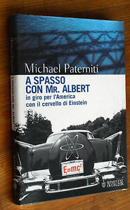 MICHAEL-PATERNITI-A-spasso-con-Mr-Albert-p-e-2001-Bompiani-B