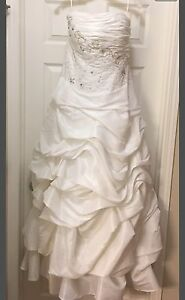 Size 12 Wedding Dress-open to offers