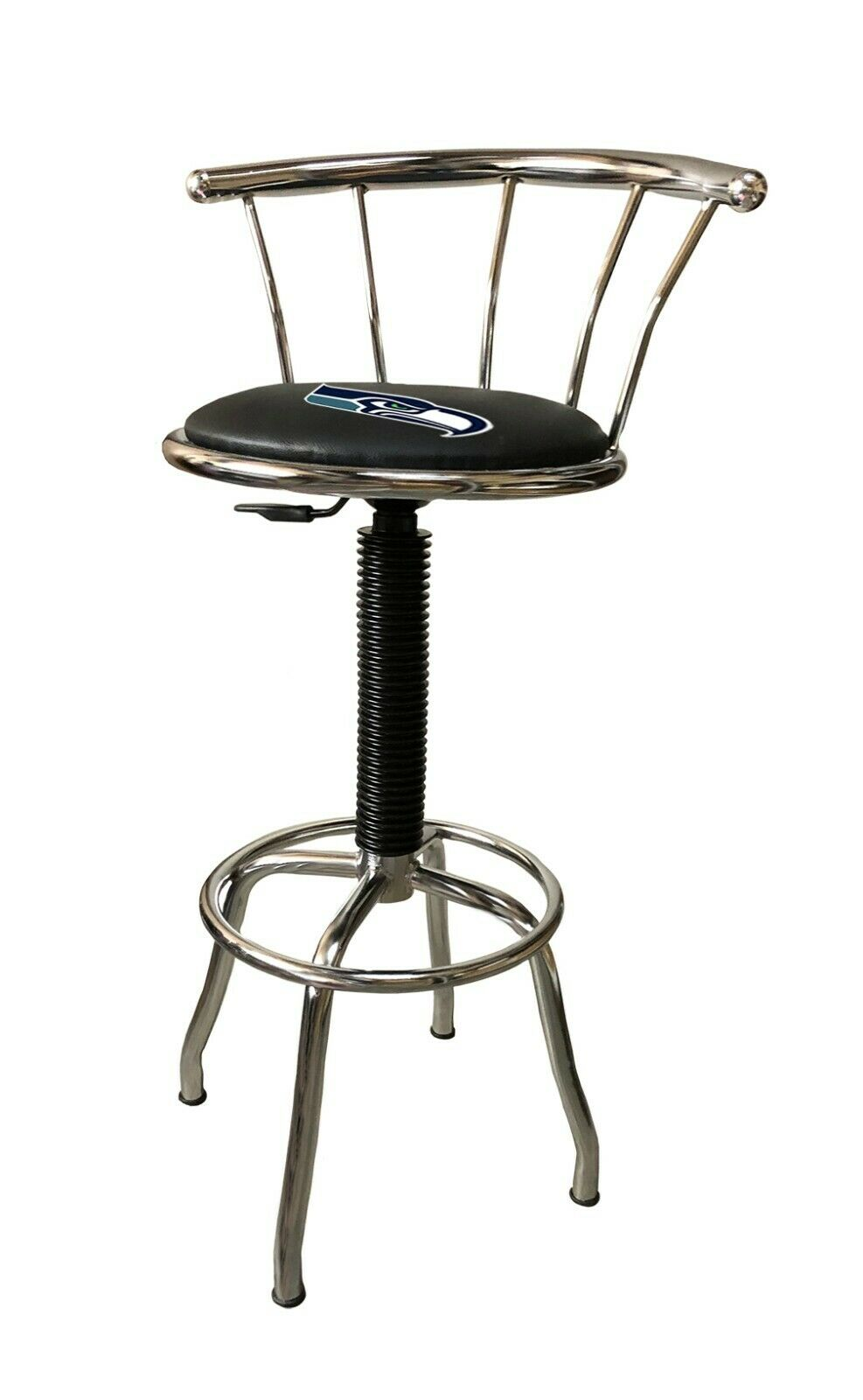 nfl chrome metal bar stool 25 to