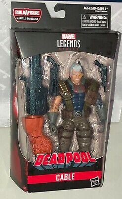 Marvel Legends Deadpool Sasquatch BAF Cable Action figure New Hasbro Toys