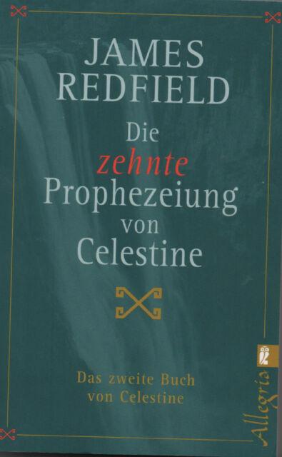 DIE ZEHNTE PROPHEZEIUNG VON CELESTINE - Band 2 mit James Redfield ULLSTEIN - NEU