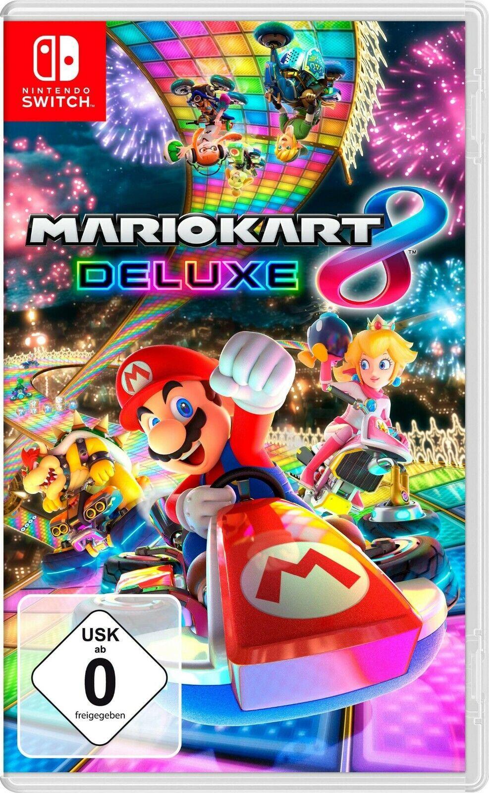 Mario Kart 8 Deluxe Nintendo Switch NEU&OVP
