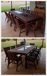 Outdoor Setting Dining Table Chairs