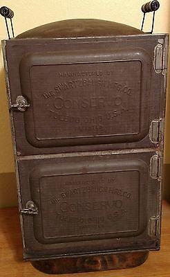 Antique Copper Steamer Cooker Canner Toledo Conservo