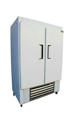 New Cooltech Us-made 48w Stainless Steel 2-door Reach-in Refrigerator Cooler