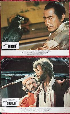 Shogun 1980ParamountBritishlobbycards(2) RichardChamberlainToshiro Mifune