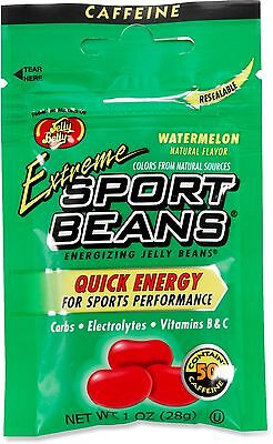 EXTREME WATERMELON SPORT BEANS Candy ~ Energizing ~ JELLY BELLY FRESH ~ 12 PACK - Sport Candy