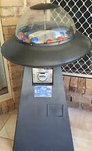UFO retro Gum ball / toy ball coin operated Machine Palmwoods Maroochydore Area Preview
