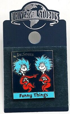 NEW Universal Studios Dr. Seuss Thing 1 Thing 2