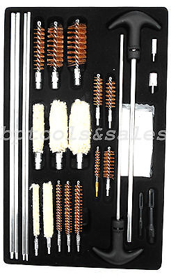 Universal DIY Gun Cleaning Kit Rifle Pistol Shotgun Handgun Firearm Cleaner Kit