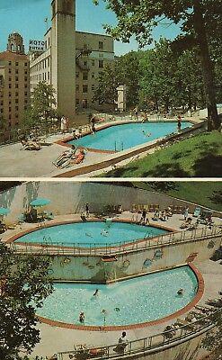 Arlington Complete Resort Hotel Hot Springs National Park Ark Vintage Postcard