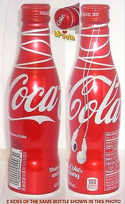 2016 SHARE-A-SONG COKE COCA-COLA SODA ALUMINUM BOTTLE-CAN UNOPENED USA HEADPHONE