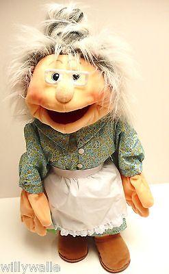 Living Puppets  Handpuppe  Großmutter  Oma  ca.65 cm  NEU