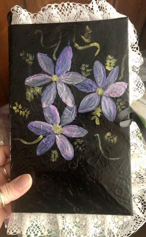 Handmade Journal-Book Of Gratitude-Junk Journal-Spell Book-Book Of Shadows New