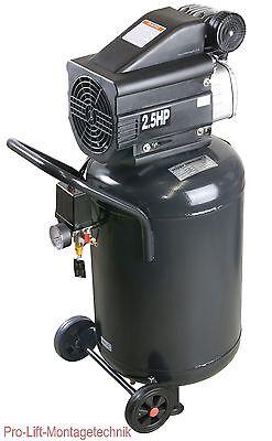 2kW Kompressor 1 Zylinder 50Liter Kessel 8bar Druckluftkompressor stehend 00554