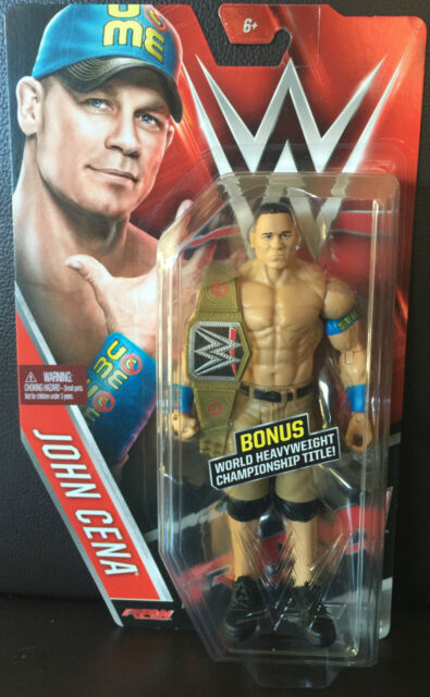 EXCLUSIVE CHASE WWE FIGURE John Cena with RARE GOLD TITLE SERIES 57-IN STOCK