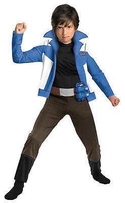 Monsuno Chase Child Boys Costume Jumpsuit Nickelodeon Anime Cartoon Dress Up - Anime Costume For Boys