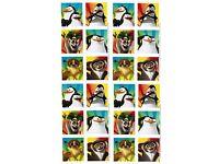 Dreamworks Penguins Madagascar Private Kowalski Skipper Rico Ice Age Plüschtier