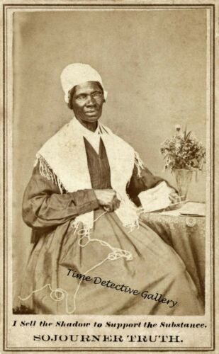 Abolitionist Activist Sojourner Truth - 1864 - Historic Photo Print