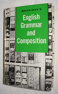 Warriner's English Grammar and Composition Grade 9 Hardcover