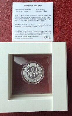 Belgique - RARE  Monnaie de 5 Euros 2011  -  Dutrieu