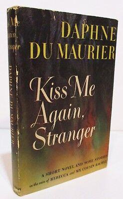 "KISS ME AGAIN STRANGER  - HCDJ W/ Short Story ""THE BIRDS"" -  HITCHCOCK CLASSIC"