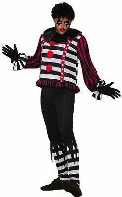 Mystery Circus Mr. Mayhem The Clown Men's Adult Costume Dark Ringmaster (Dark Circus Kostüme)