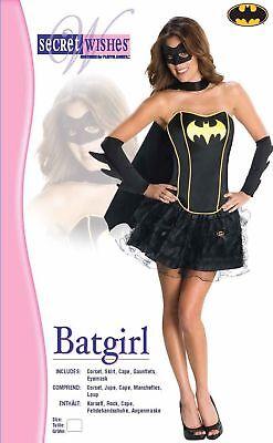 Secret Wishes DC Comics Batgirl Corset And Tutu Costume sz Medium