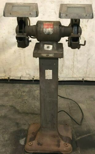 "8"" ROCK WELL PEDESTAL GRINDER # 438023140186"