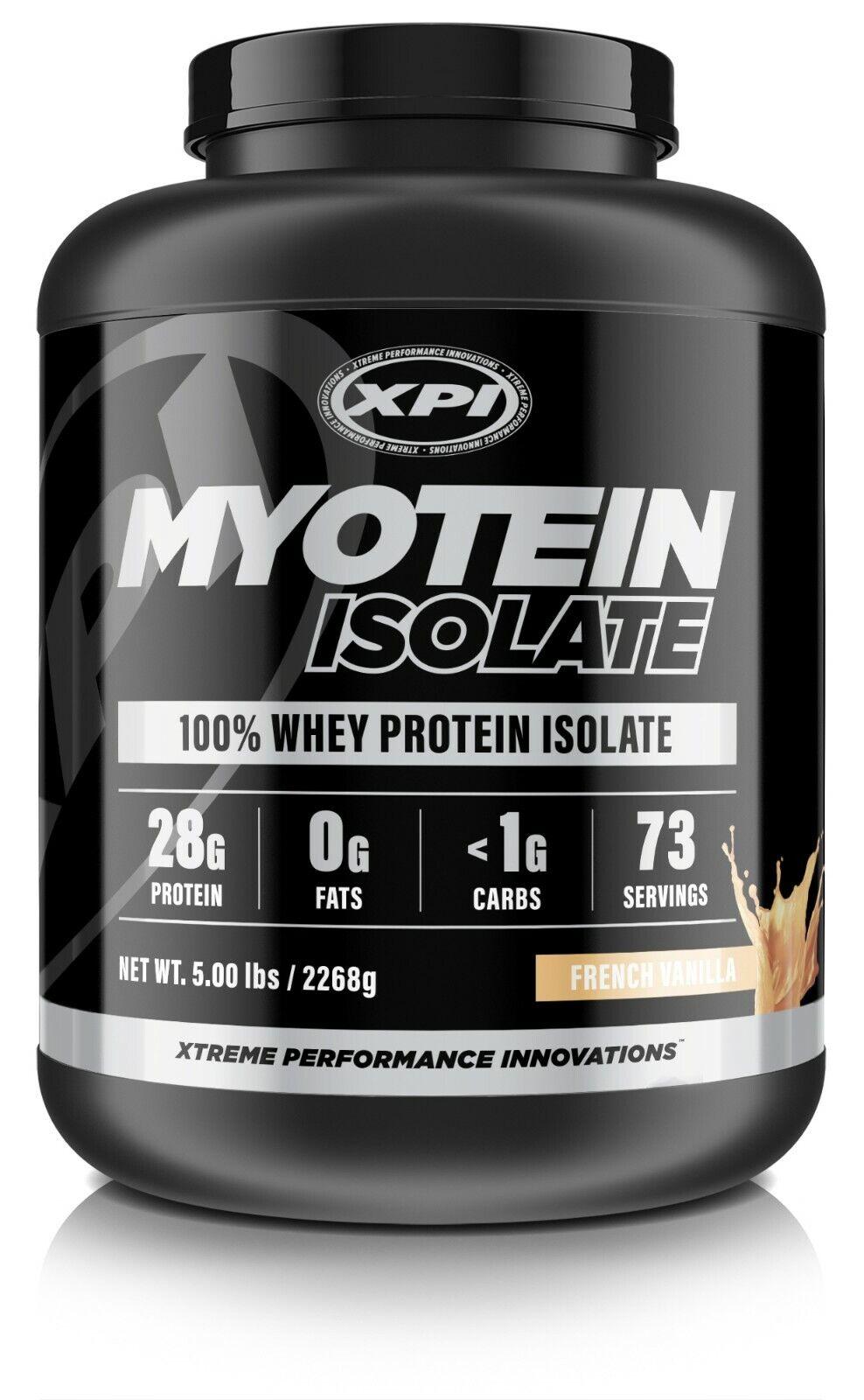 XPI Myotein Isolate Protein Powder 5LBS