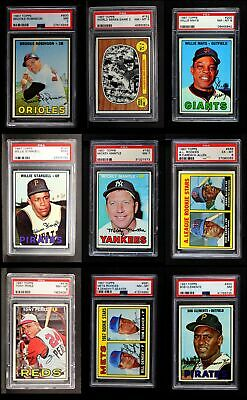 3726fb310f1 1967 Topps Baseball Complete Set - Premier NM+