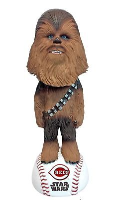 2018 Cincinnati Reds Star Wars Chewbacca Bobblehead SGA New In box 5-4-2018