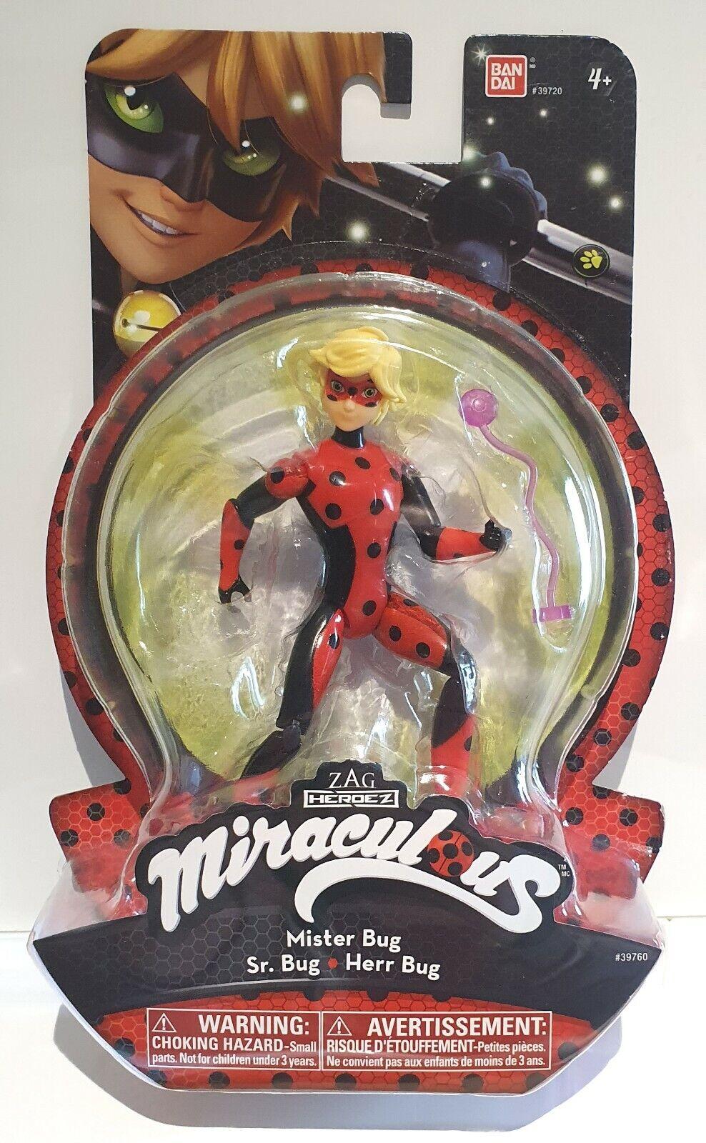 Miraculous Actionfigur Mister Bug ca. 15 cm Spielzeug BANDAI