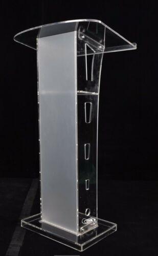 Plexiglass Clear Christian Lucite Church Pulpit Lectern Trinity Podium Pulpit