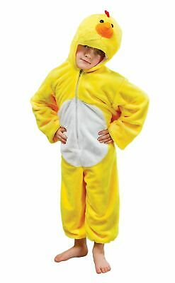 Child Plush Chicken Costume Boys Girls Farmyard Book Week Day Fancy Dress Outfit - Kids Chicken Outfit