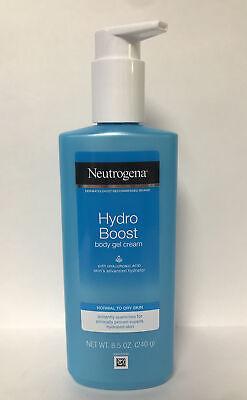 Neutrogena HYDRO BOOST Body Gel Cream-Normal to Dry Skin-W/HYALURONIC ACID-8.5oz